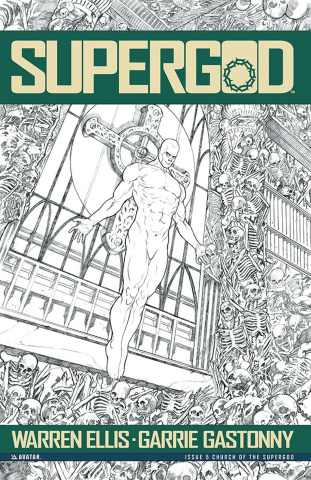Supergod #5 (Church of the Supergod Cover)