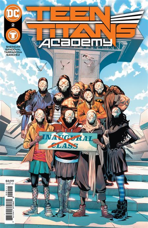 Teen Titans Academy #2 (Rafa Sandoval Cover)