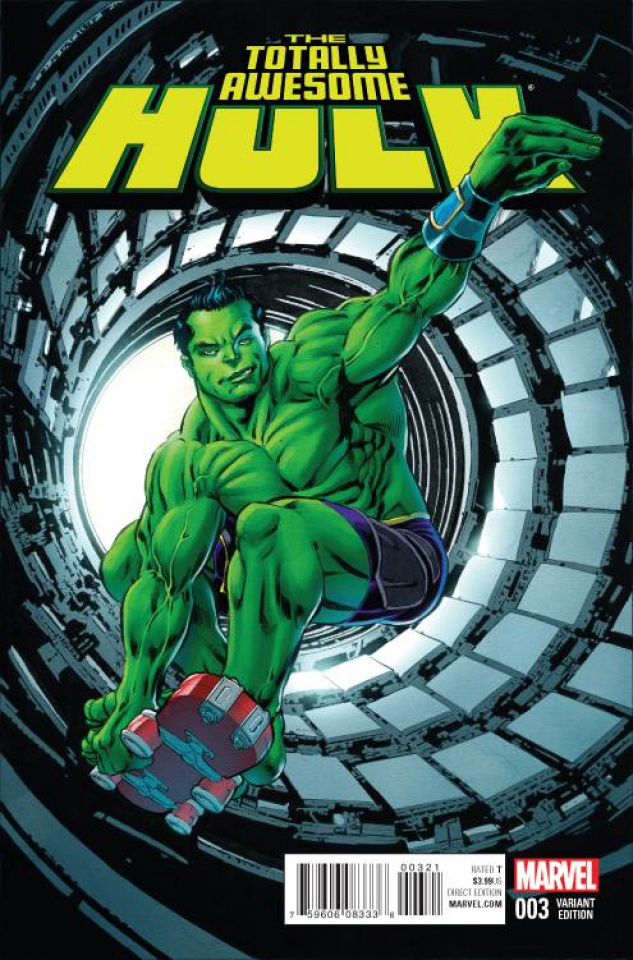 Totally Awesome Hulk #3 (Variant Cover)