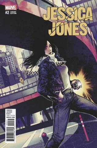 Jessica Jones #2 (Shirahama Cover)