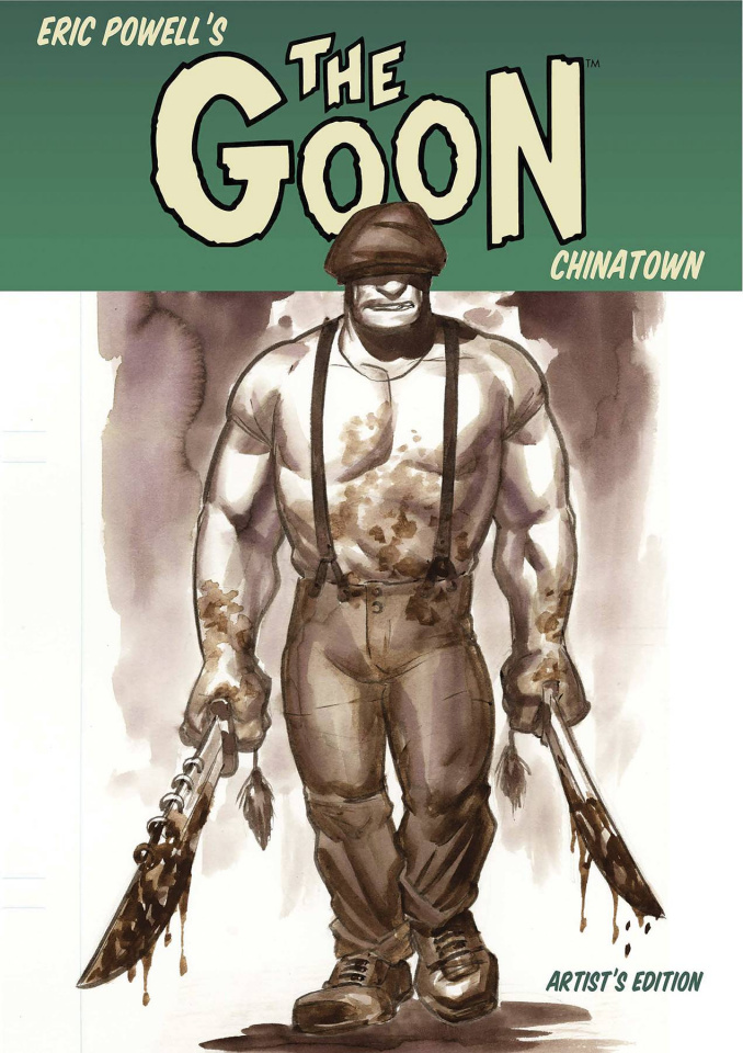 The Goon: Chinatown Artist's Edition
