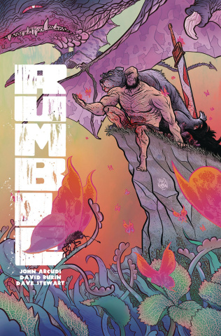 Rumble #5 (Rubin Cover)