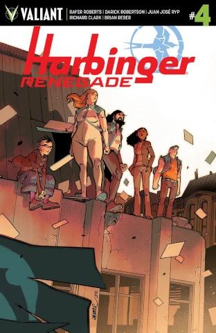Harbinger: Renegade #4 (10 Copy Lafuente Cover)
