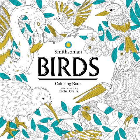 Birds: A Smithsonian Coloring Book