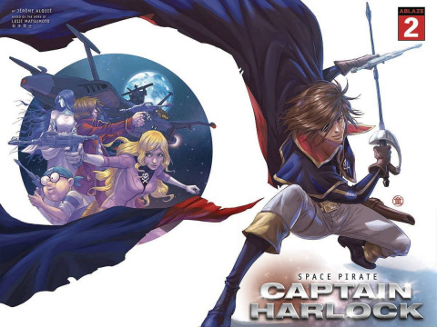 Space Pirate: Captain Harlock #2 (Andie Tong Cover)