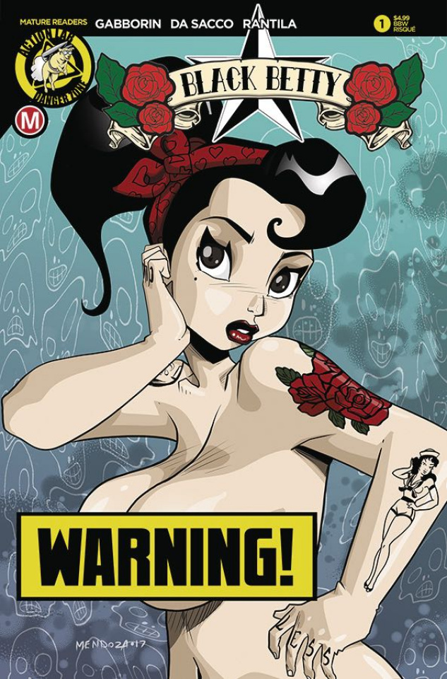 Black Betty #1 (Mendoza Risque Cover)