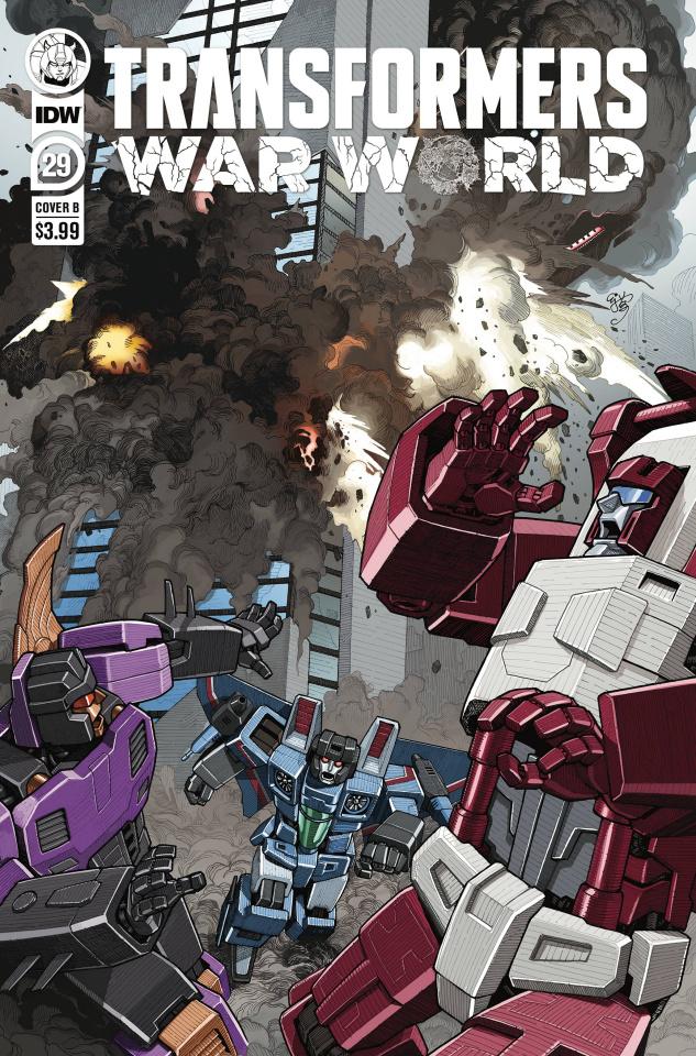 The Transformers #29 (E.J. Su Cover)