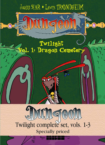 Dungeon: Twilight Vols. 1-3