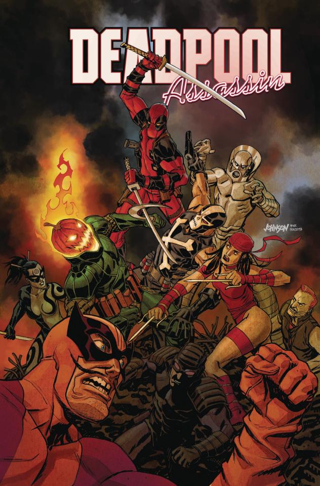Deadpool: Assassin #5 (Johnson Cover)