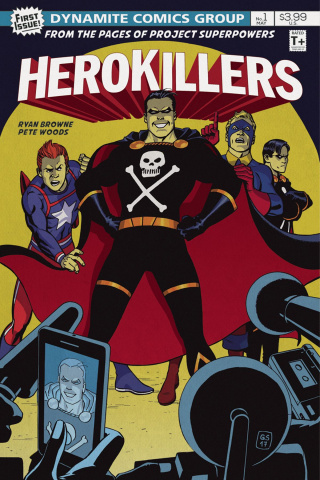 Project Superpowers: Hero Killers #1 (Sudzuka Cover)