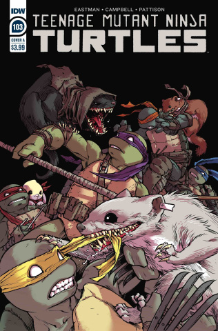 Teenage Mutant Ninja Turtles #103 (Campbell Cover)