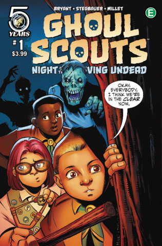 Ghoul Scouts: Night of the Unliving Undead #1 (Norton Cover)