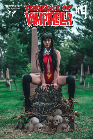 Vengeance of Vampirella #4 (Cosplay Cover)