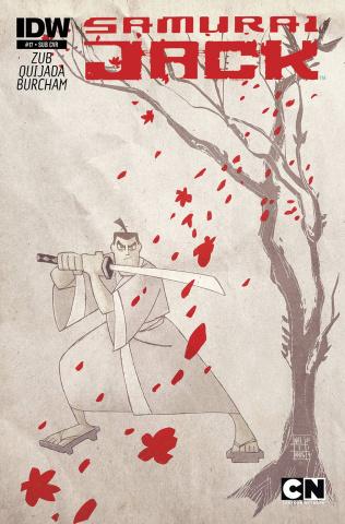 Samurai Jack #17 (Subscription Cover)