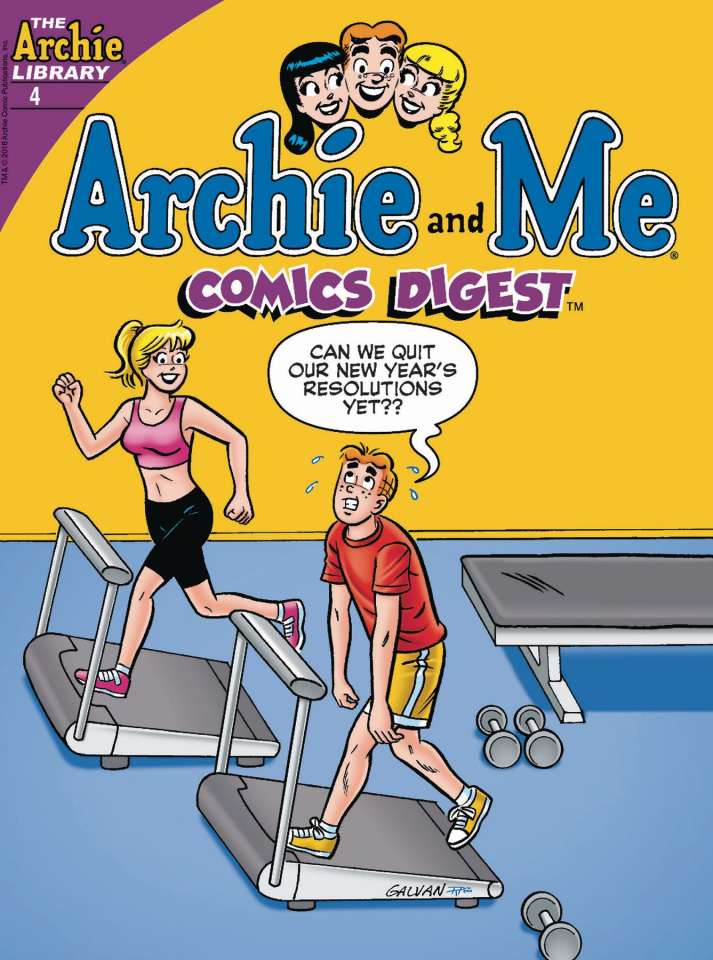 Archie and Me Comics Digest #4