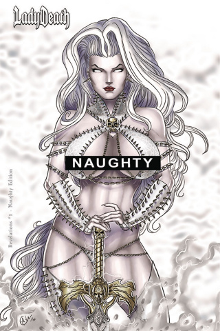 Lady Death: Revelations #1 (Naughty Cover)