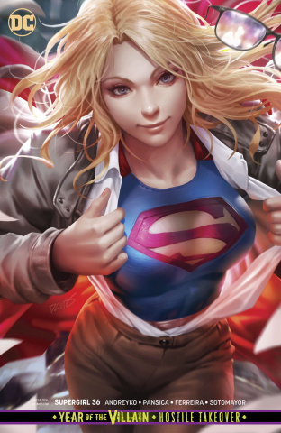 Supergirl #36 (Card Stock Cover)