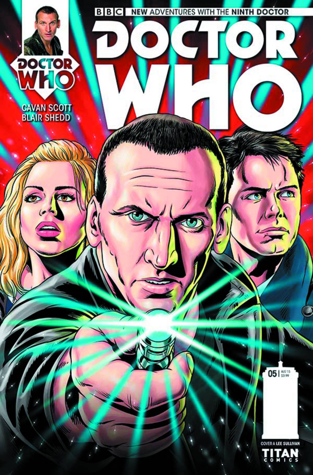 Doctor Who: New Adventures with the Ninth Doctor #5 (Sullivan Cover)