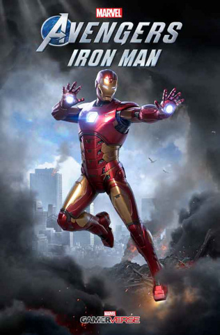 Avengers: Iron Man #1 (Game Cover)