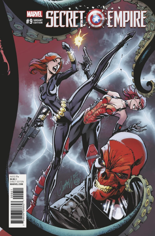 Secret Empire #9 (J.S. Campbell Cover)