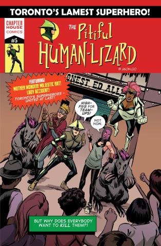 The Pitiful Human Lizard #5