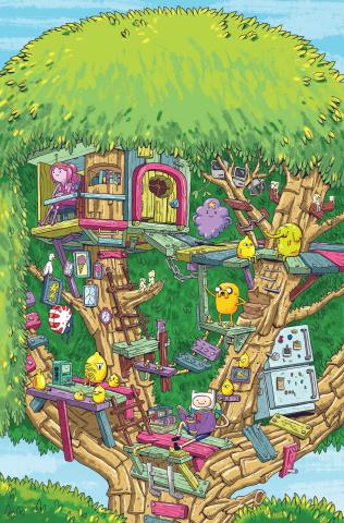 Adventure Time, Season 11 #3 (Vermilyea Cover)