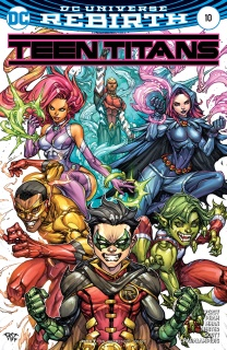Teen Titans #10 (Variant Cover)
