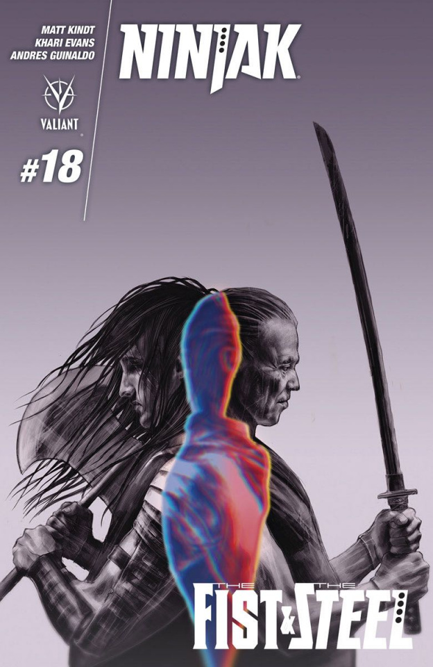 Ninjak #18 (Latorre Cover)