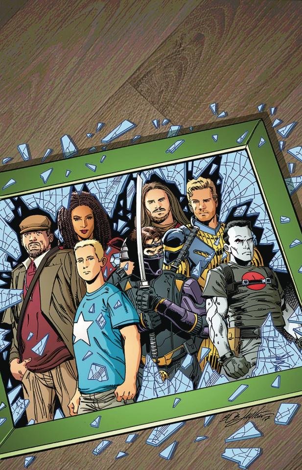 Ninjak vs. The Valiant Universe #1 (50 Copy Layton Cover)
