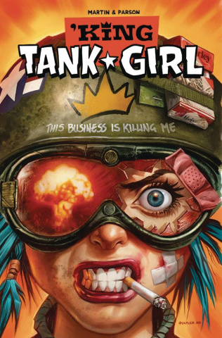 King Tank Girl #4 (Staples Cardstock Cover)