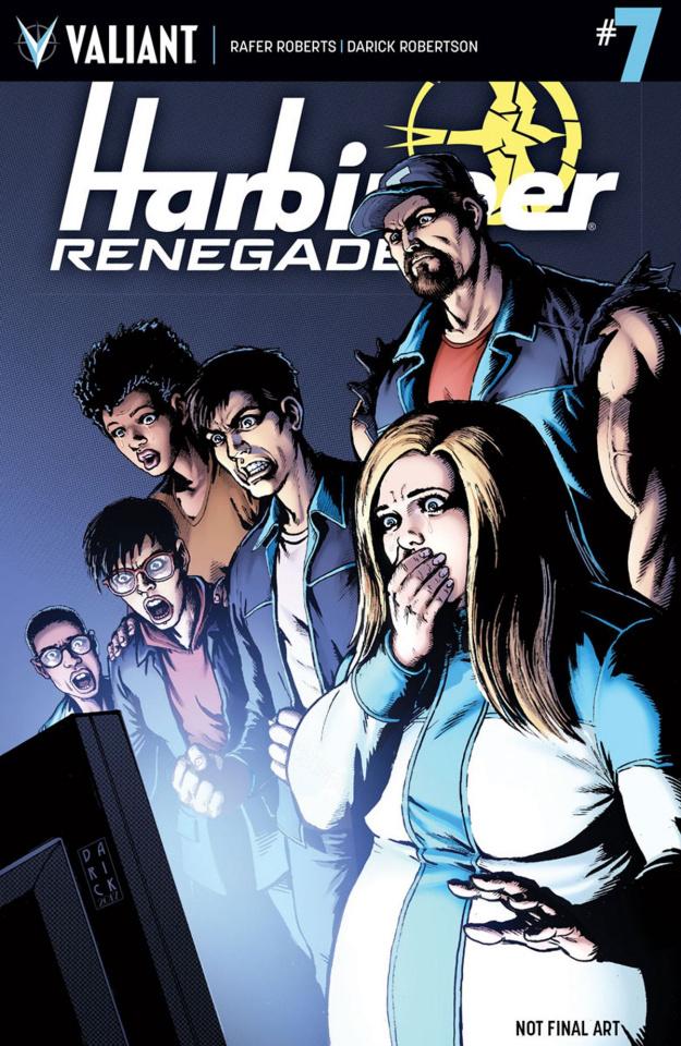 Harbinger: Renegade #7 (Robertson Cover)