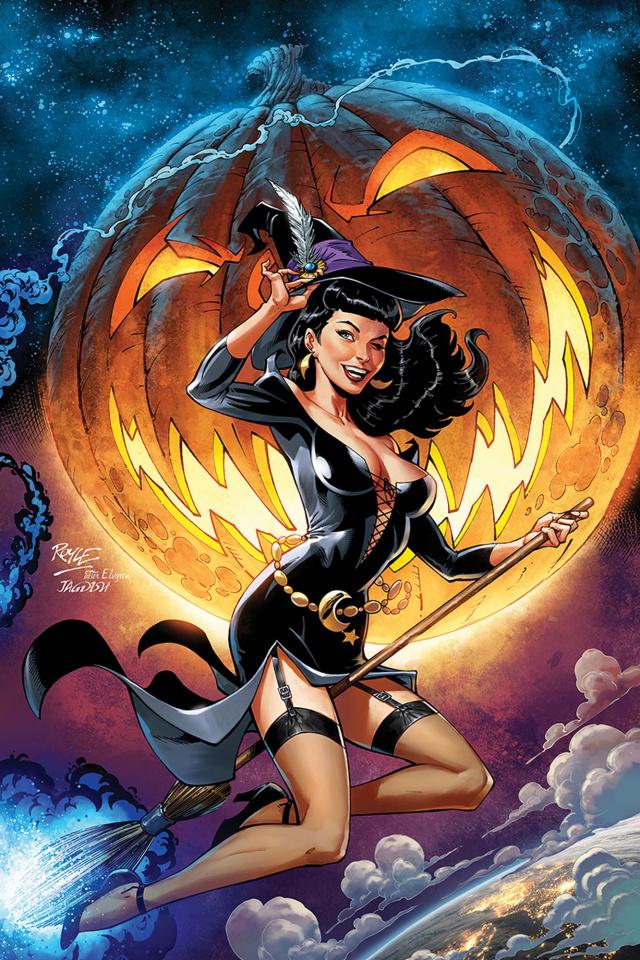 Bettie Page Halloween Special (10 Copy Royle Virgin Cover)