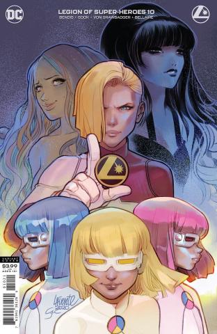 The Legion of Super Heroes #10 (Darko Lafuente Cover)