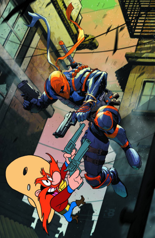 Deathstroke #12 (Looney Tunes Cover)