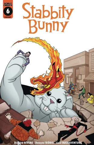Stabbity Bunny #6 (Cover B)