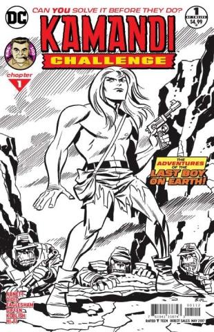 Kamandi Challenge #1 (2nd Printing)