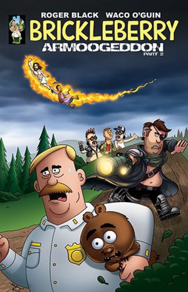 Brickleberry #2 (Long Cover)