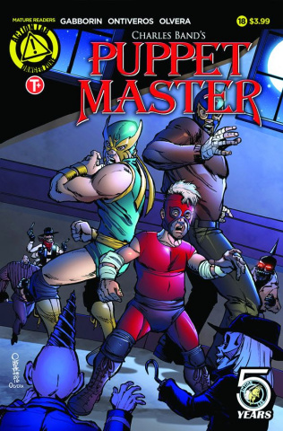 Puppet Master #18 (Ontiveros Cover)
