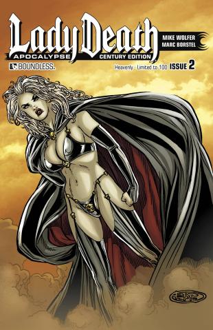 Lady Death: Apocalypse #2 (Century Heavenly Cover)