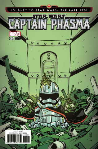 Journey to Star Wars: The Last Jedi - Captain Phasma #1 (Young Cover)