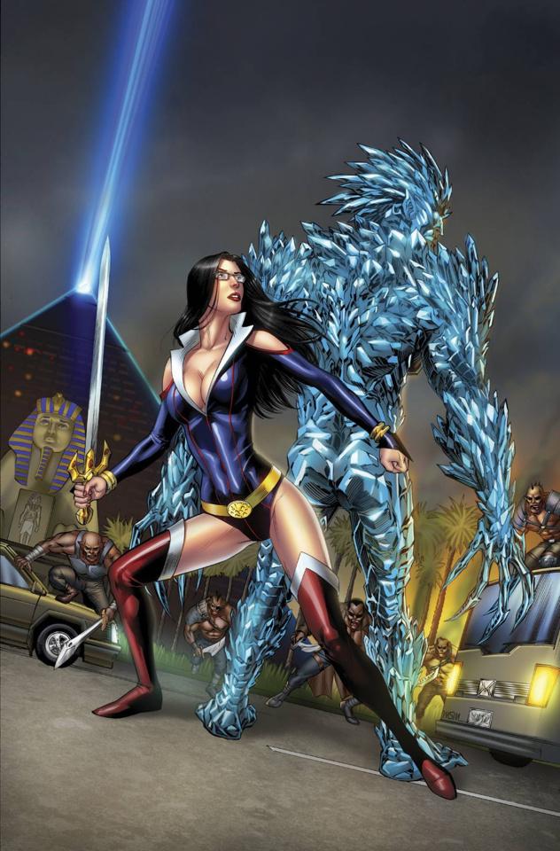 Grimm Fairy Tales: Realm War #7 (Miller Nivangune Cover)