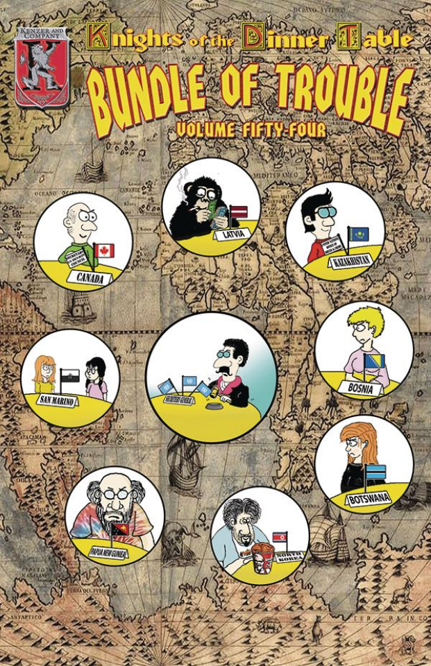 Knights of the Dinner Table: Bundle of Trouble Vol. 54