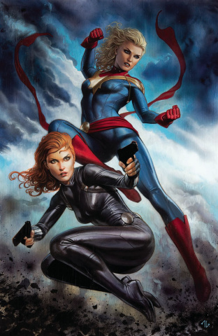 Captain Marvel #6 (Granov Virgin Cover)