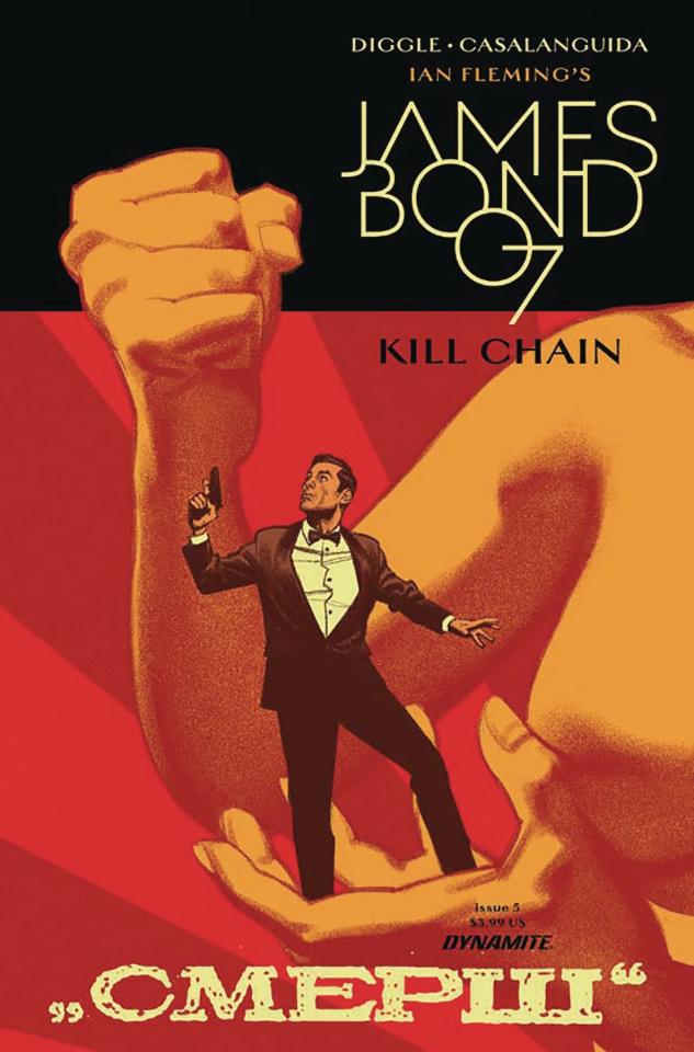 James Bond: Kill Chain #5 (Smallwood Cover)