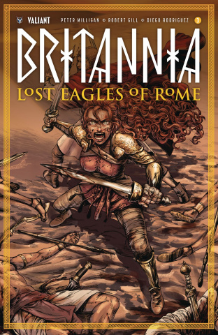 Britannia: Lost Eagles of Rome #3 (Kim Cover)