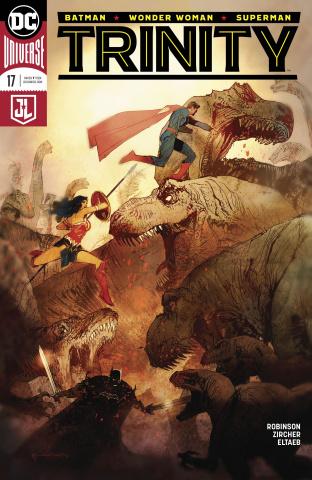 Trinity #17 (Variant Cover)
