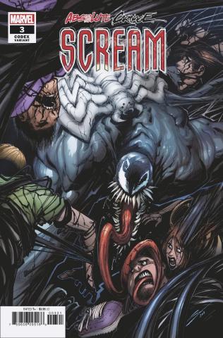 Absolute Carnage: Scream #3 (Sandoval Codex Cover)