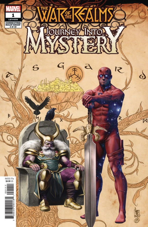 The War of the Realms: Journey Into Mystery #1 (Camuncoli Cover)