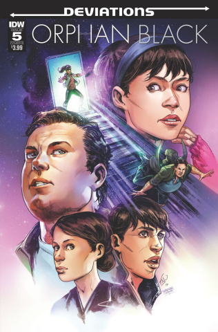 Orphan Black: Deviations #5 (Ossio Cover)