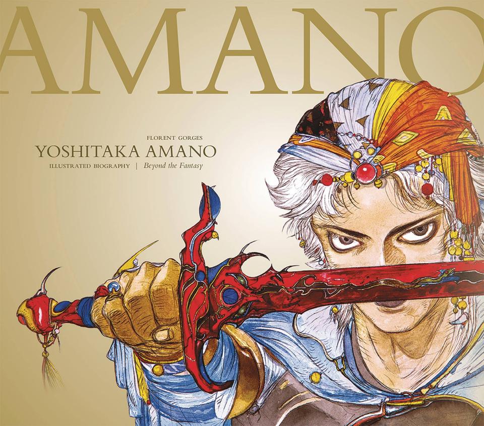 Yoshitaka Amano: The Illustrated Biography - Beyond the Fantasy